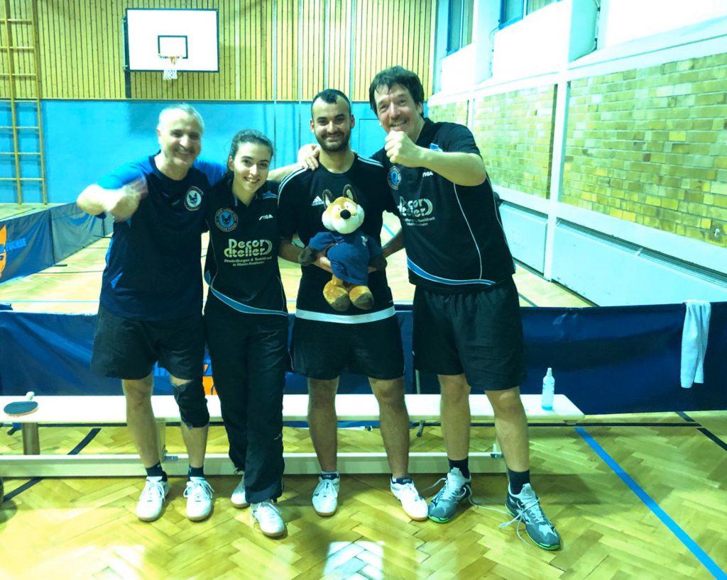 Zweite Mannschaft der Mainzer Füchse